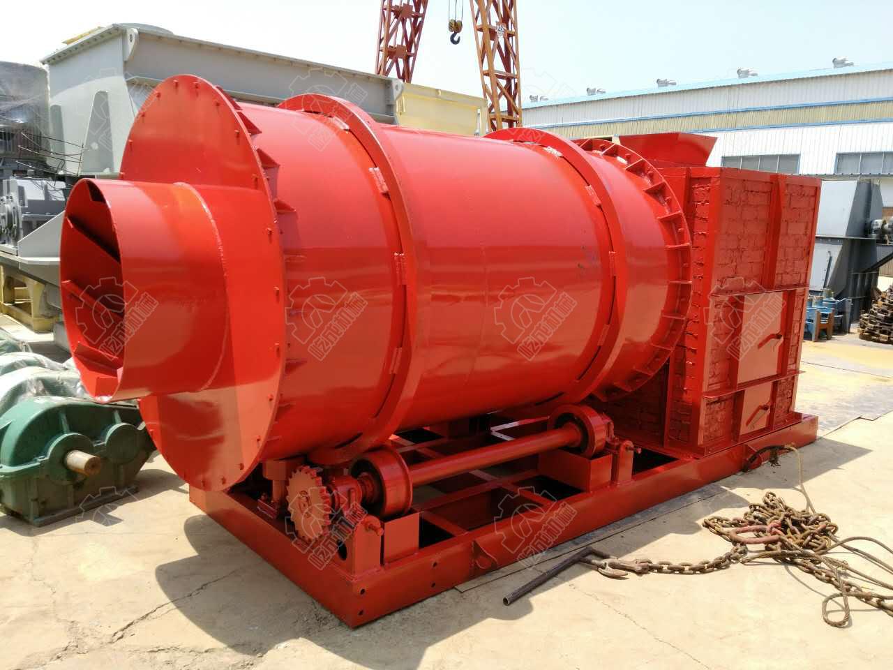 时产3吨河沙烘干机